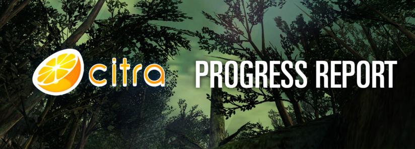 Citra Progress Report - 2018 Q2 - Citra