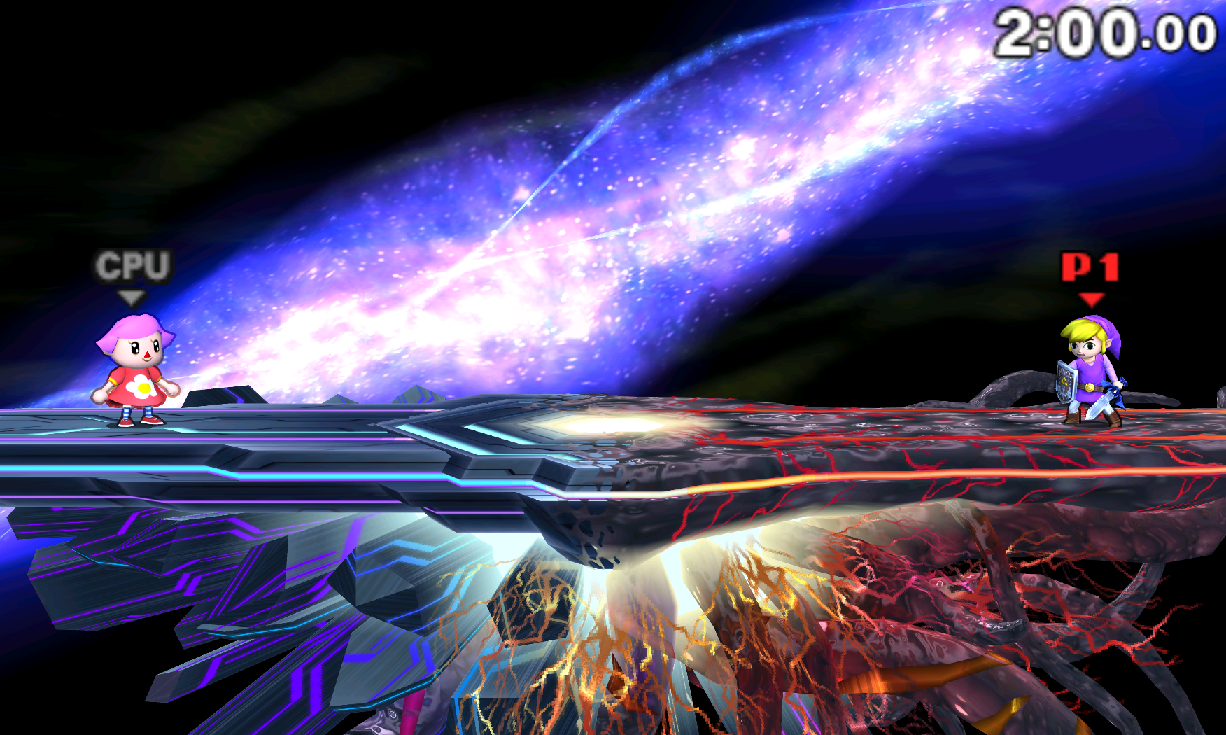 Super Smash Bros. for 3DS after the new lighting features