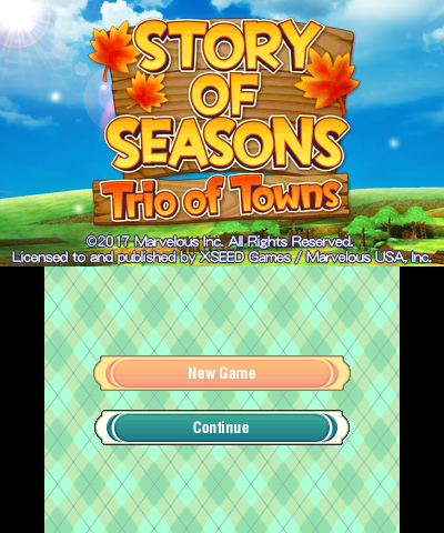 STORY OF SEASONS: Trio of Towns - Citra